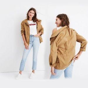 Madewell Prospect Jacket in Dark Sahara